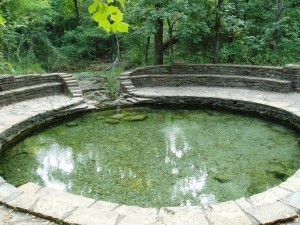 Buffalo Spring. Located in Chickasaw National Recreation Area. (Photo by Scott Christenson)