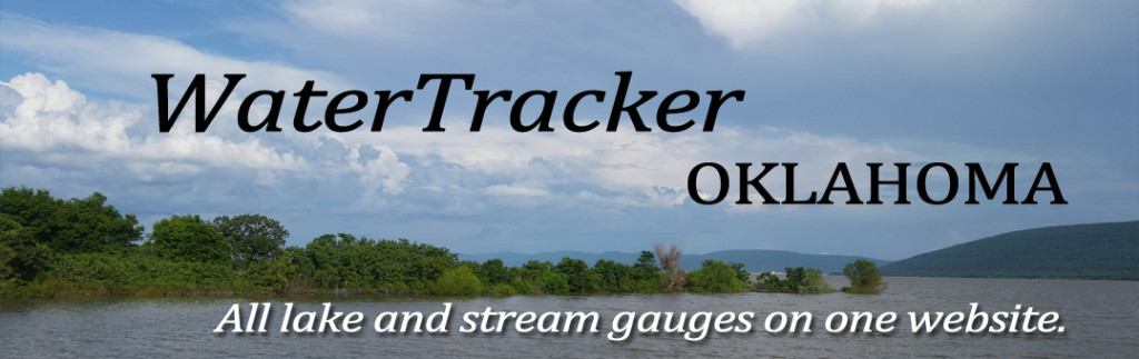 WaterTracker - All lake and stream gauges in Oklahoma.